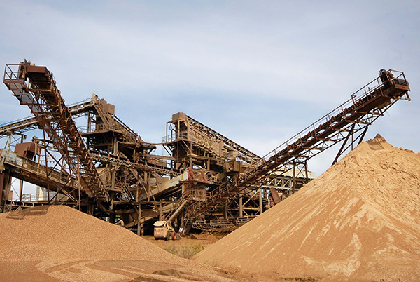 AR Steel Products & Services for Sand & Gravel Industry