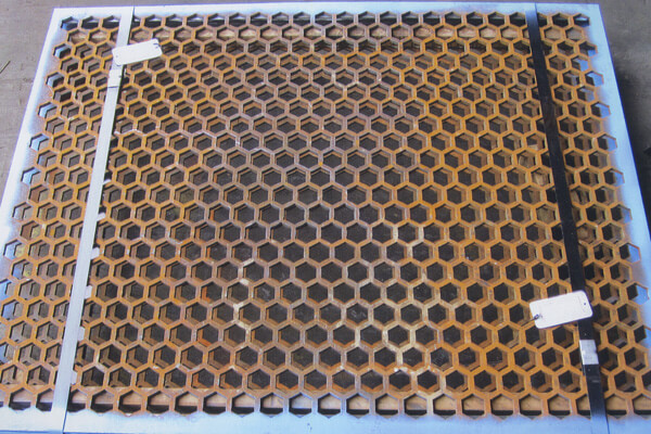 Abrasion Resistant Punch Plate