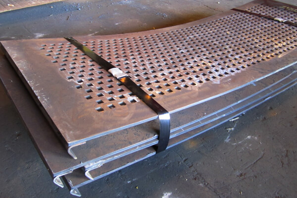 Abrasion Resistant Steel Punch Plate